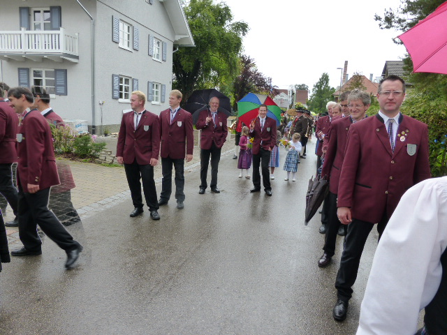 Schützenumzug Obergünzburg 2014