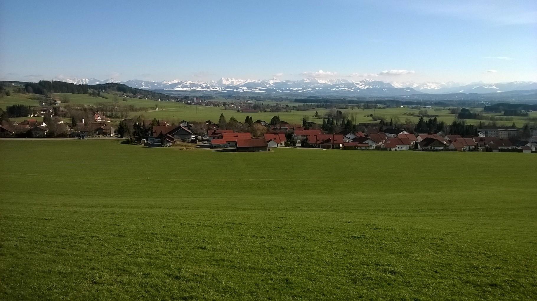 Ausblick vom Schützenheim