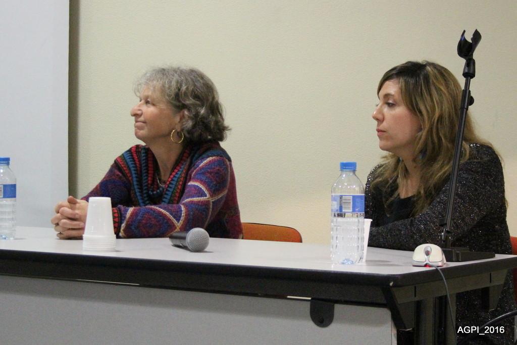 Le docteur Jasper et Laetitia Latisnère, assistante de service social à l'AGPI