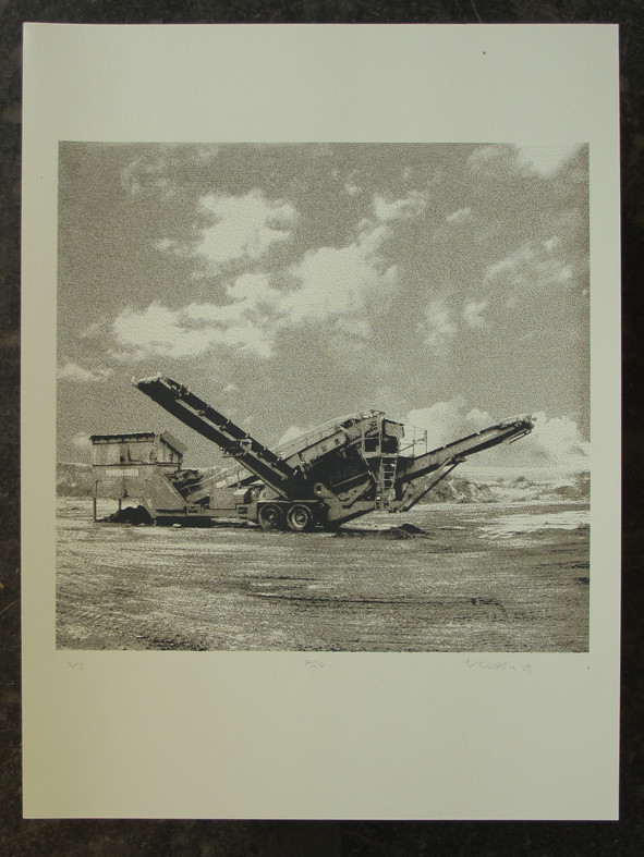 POWERSCREEN4 45x45cm, Blatt 70x50cm, Auflage 3Stück