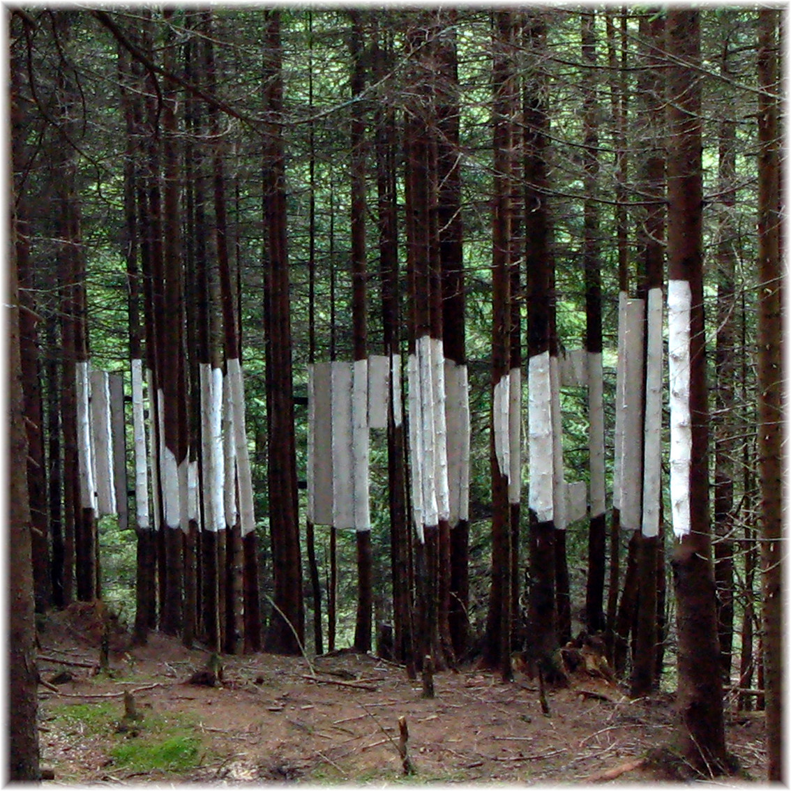Und- perspektivische Installation, Pillberg, 2008, Wolfgang Wallner, Hall in Tirol