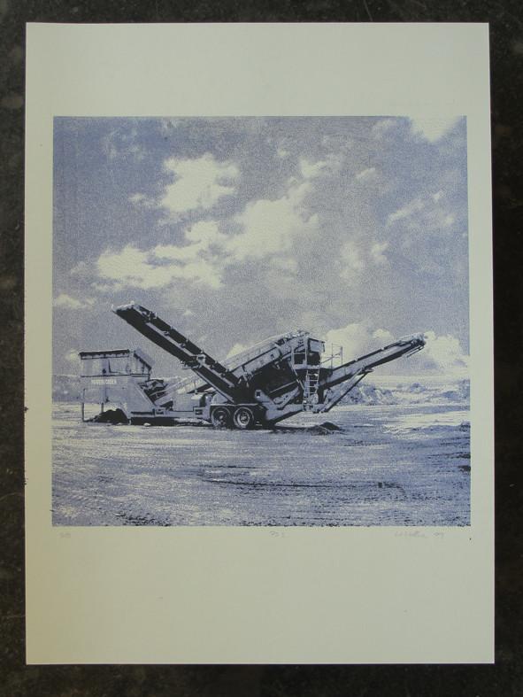 POWERSCREEN3 45x45cm, Blatt 70x50cm, Auflage 5Stück