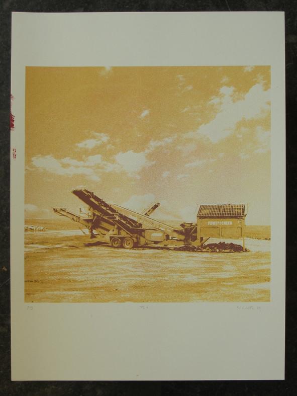 POWERSCREEN1 45x45cm, Blatt 70x50cm, Auflage 3Stück