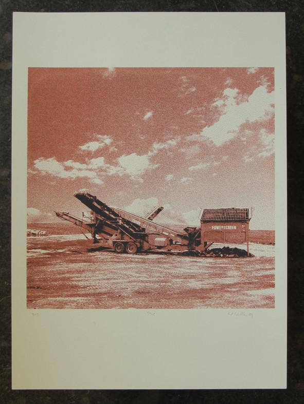 POWERSCREEN2 45x45cm, Blatt 70x50cm, Auflage 3Stück