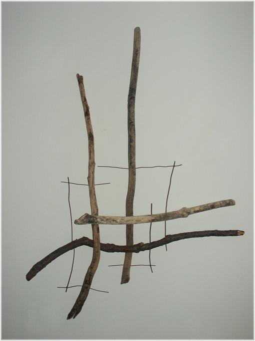 Fragment Nr.2, gesammelt, Kraftobjekte Wolfgang Wallner Hall in Tirol