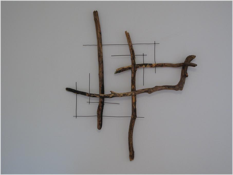 Fragment Nr. 3, ausgerichtet, Kraftobjekte Wolfgang Wallner Hall in Tirol