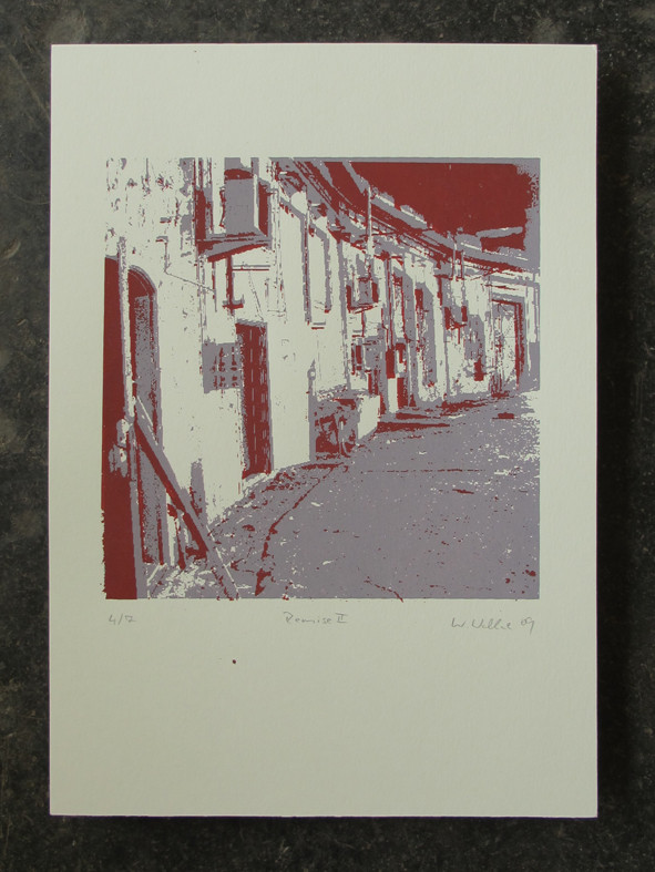 REMISE schwarz 20x20cm, Auflage 7Stück