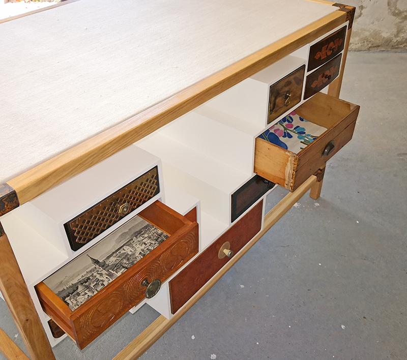 Sideboard doppelschub | Atelier Wolfgang Wallner - Hall in Tirol
