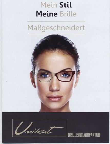 Maßgeschneiderte Brillen