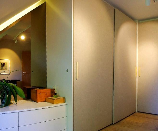Gestaltung Schlafzimmerschrank, Rolf Kullmann Innenarchitekt, Atelier Feynsinn, Köln