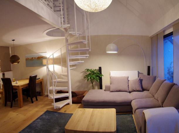 Wohnzimmer nach Fertigstellung