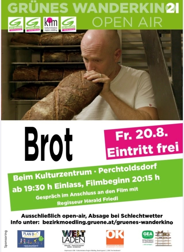 """BROT"" Die Doku im Grünen Wanderkino"