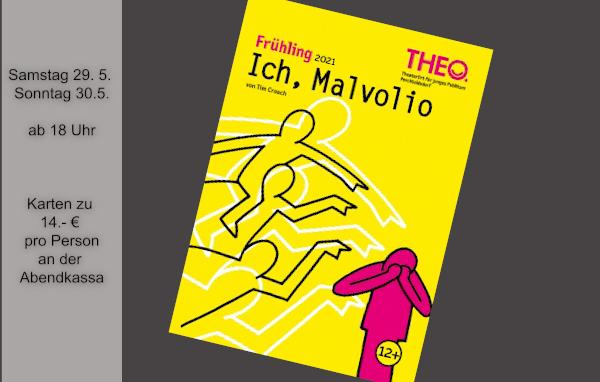 """""""Ich Malvolio"""" im THEO"""
