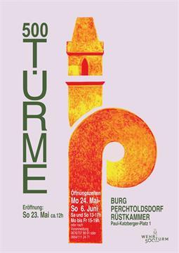 """Eröffnung der Ausstellung """"500 Türme"""""""