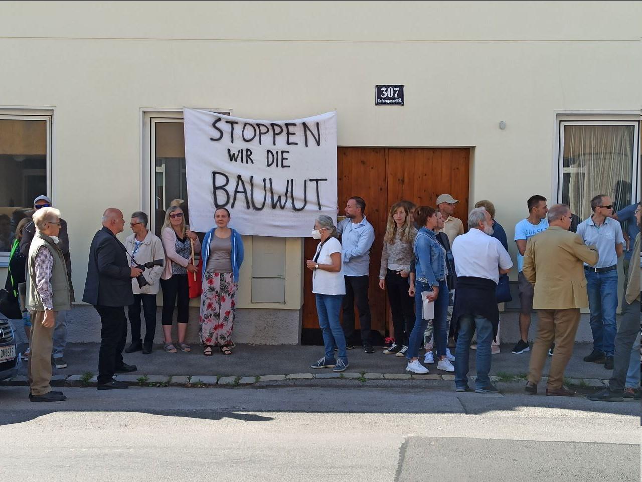 Protest gegen Bauprojekt