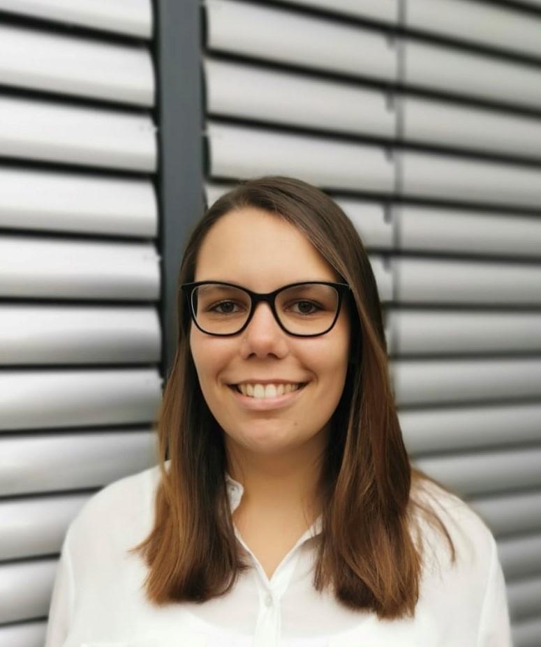 Leticia Romero en DB Cargo en Mainz (Alemania)