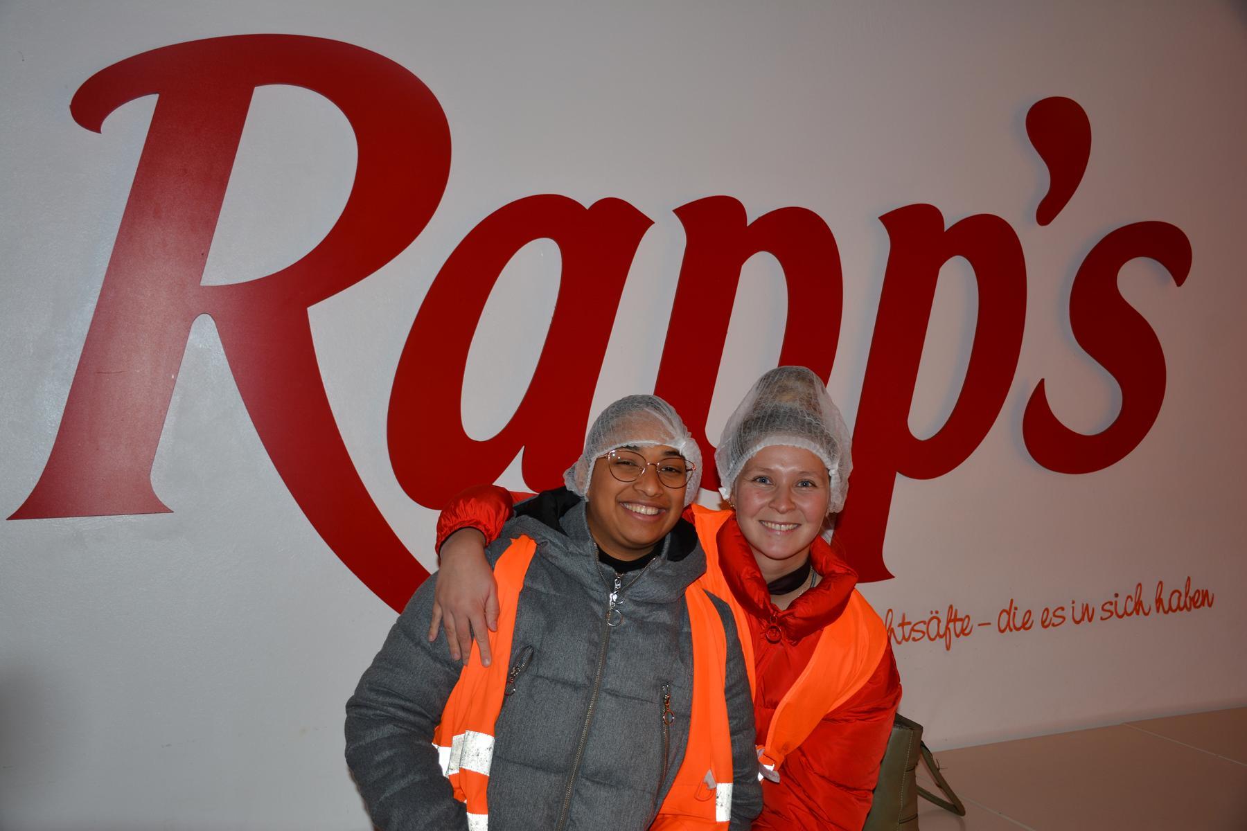 Visita a la empresa Rapp's, tema procesos de producción