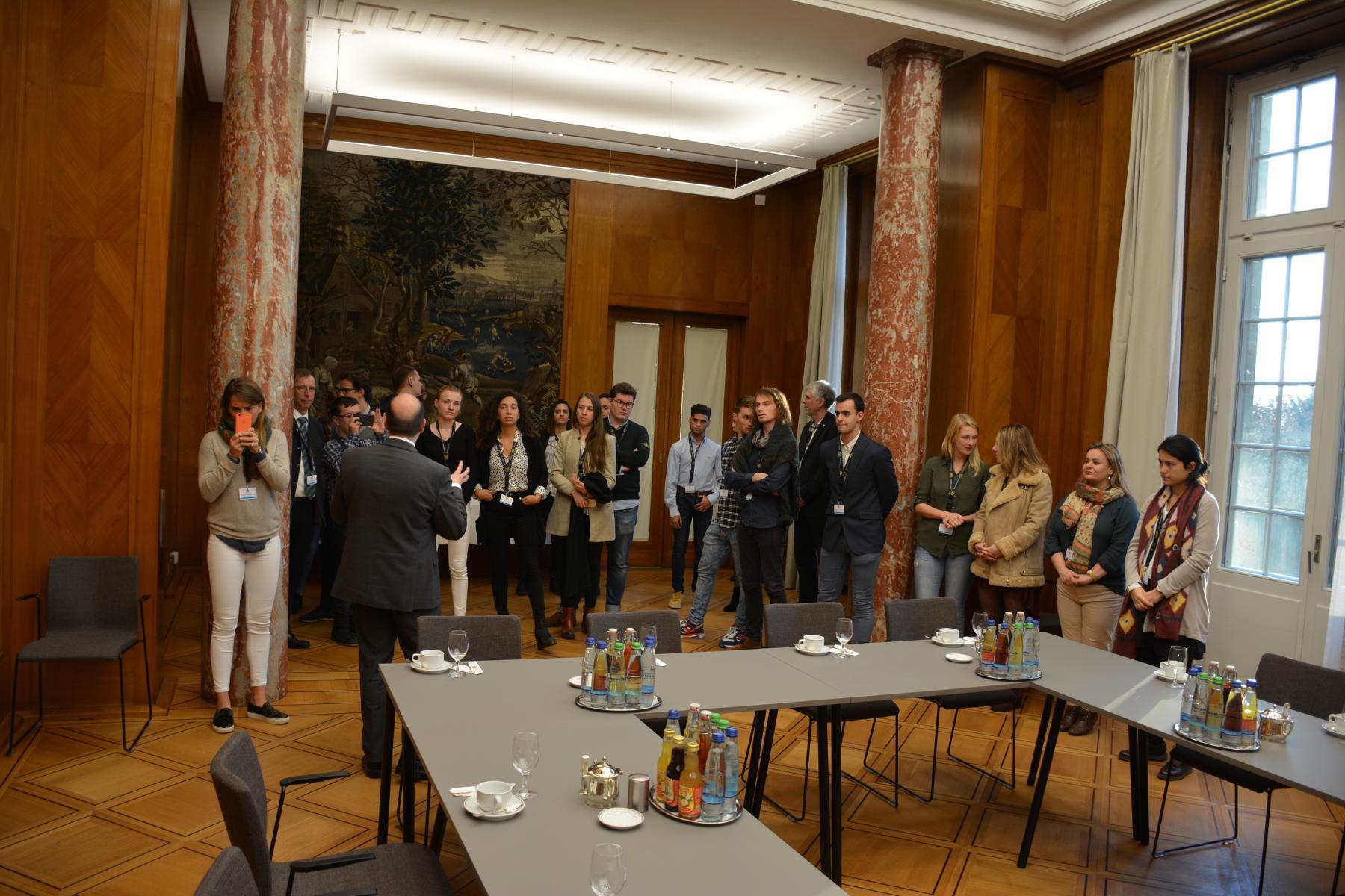Visita a la Villa Reitzenstein (Staatsministerium Baden-Württemberg)