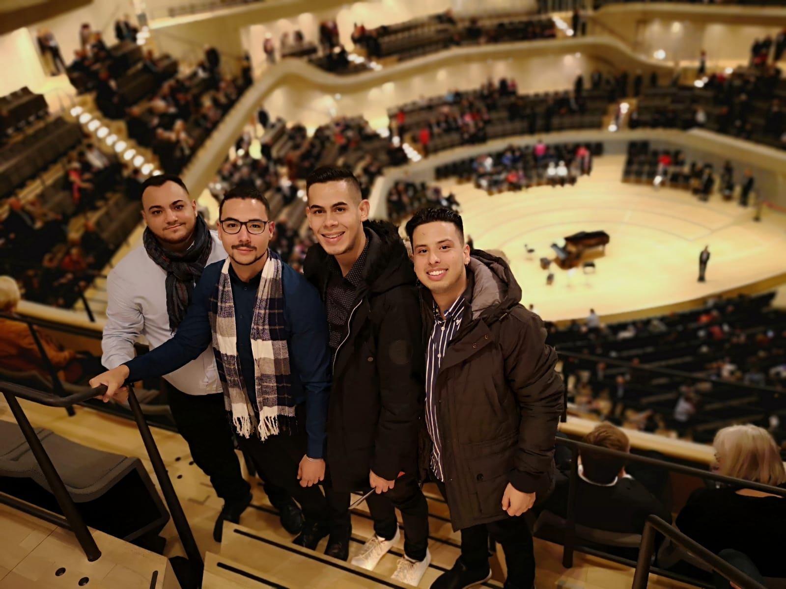 Concierto sinfónico en la Elbphilharmonie, Hamburgo