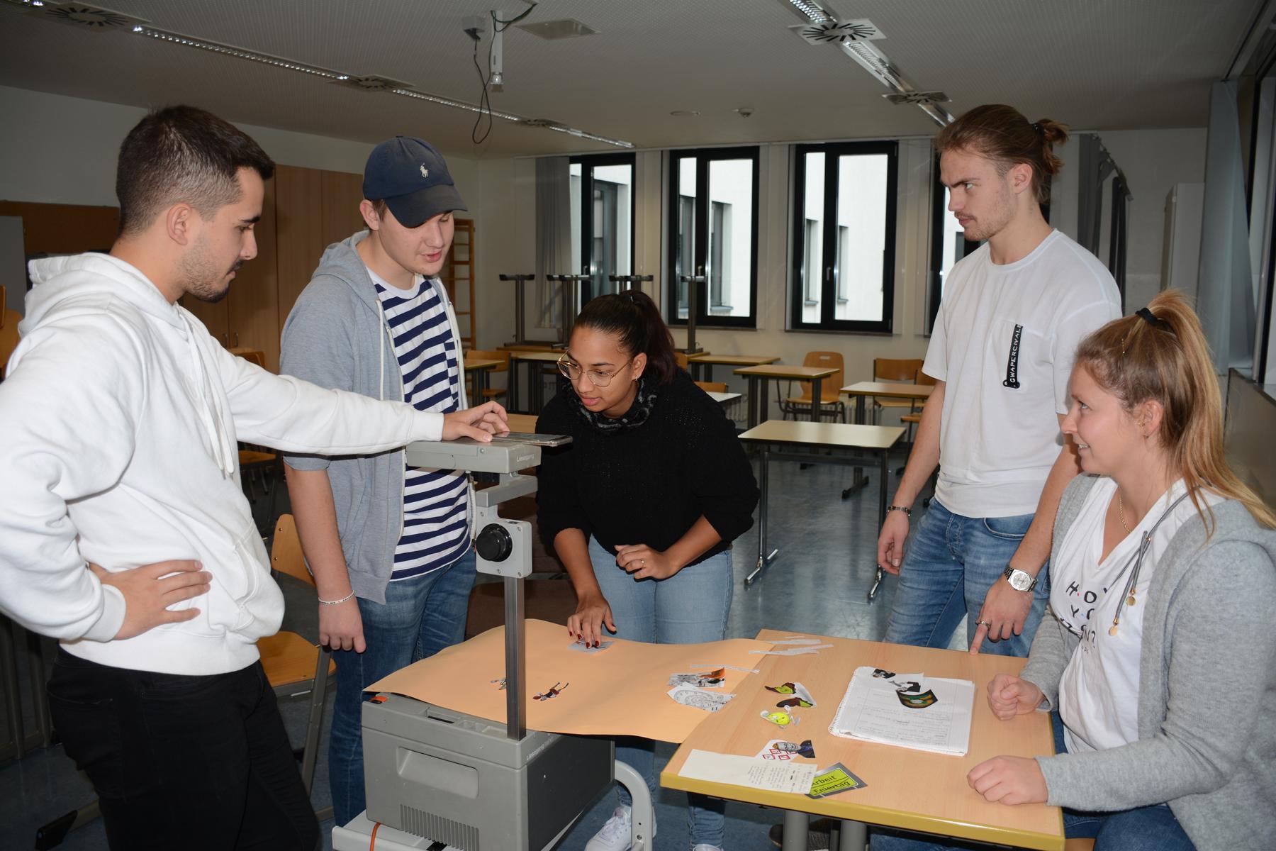 Proyecto con los alumnos de Bethmannschule