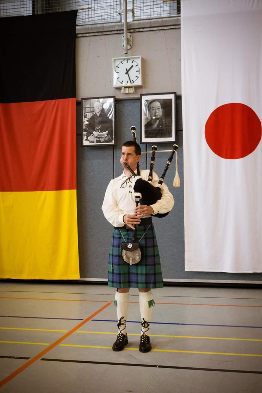 Kleiner Auftritt bei einmem Lehrgang vom Karateverein Bushido Siegen
