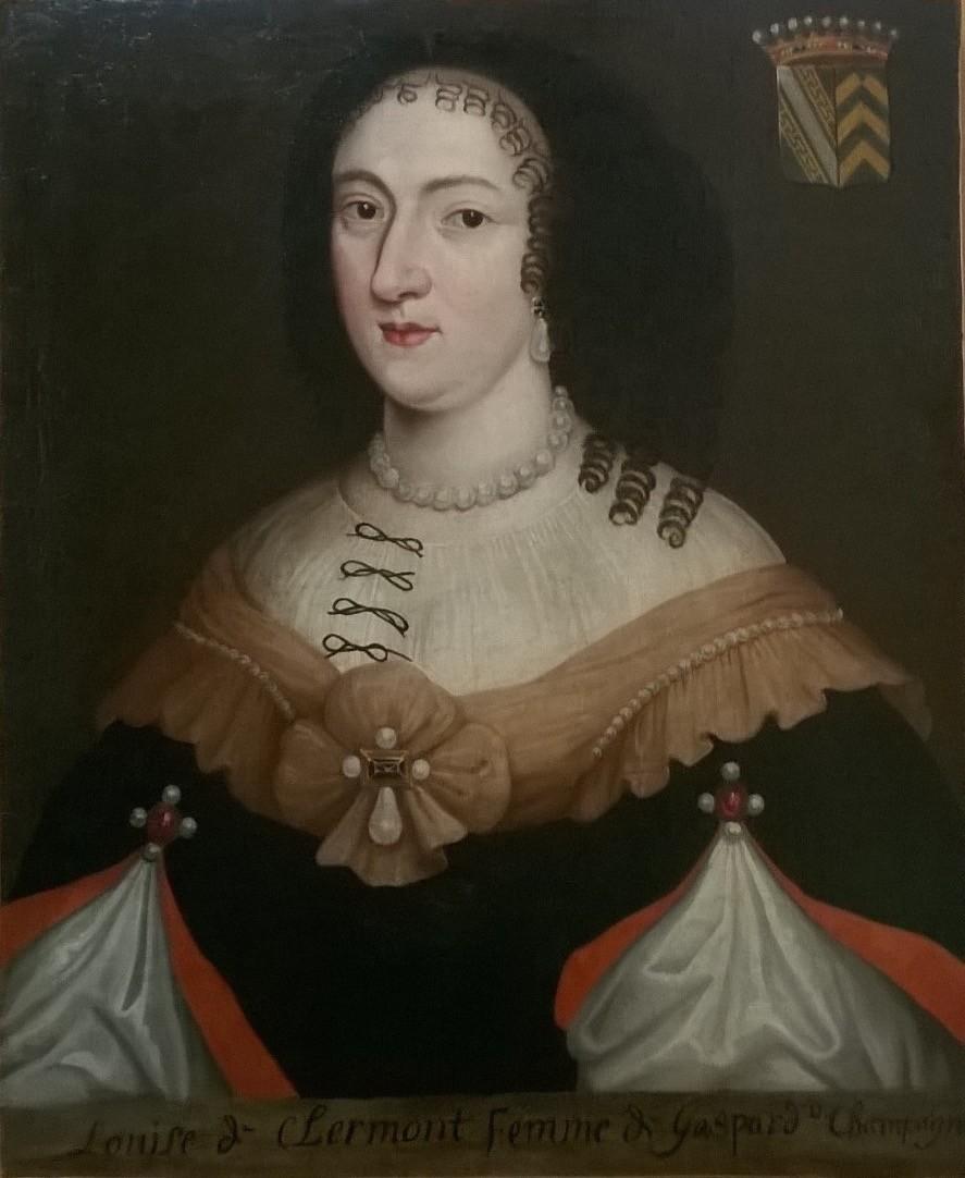 Restauration d'un portrait féminin appartenant au musée de Belfort. Après restauration
