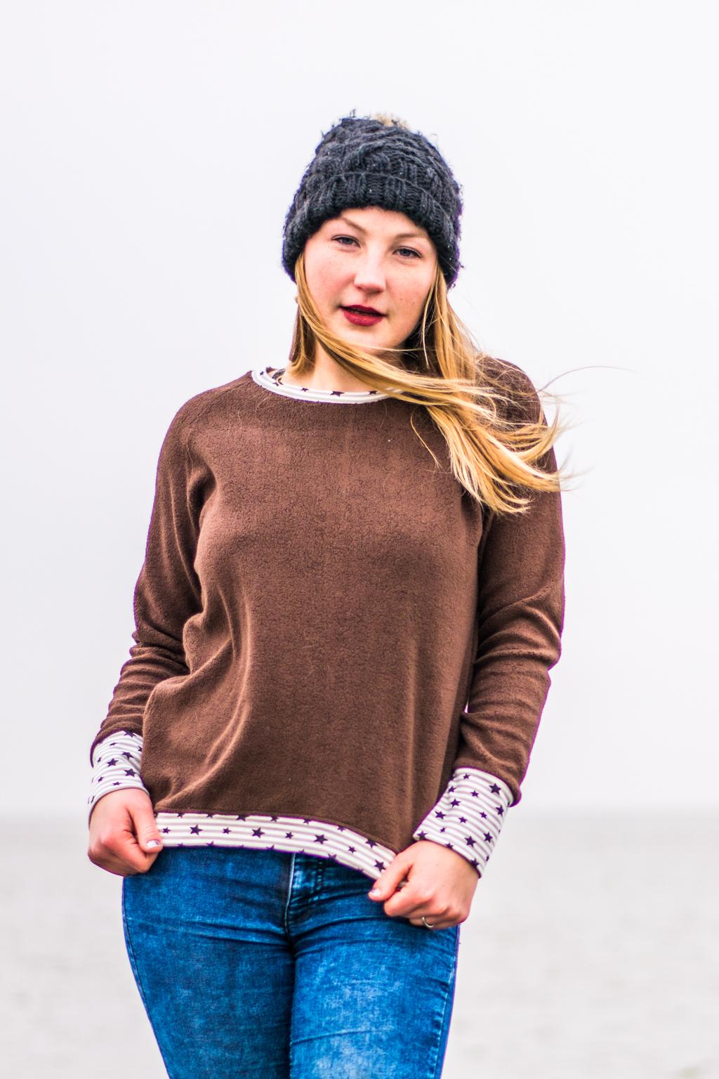 Kuschelsweat Baumwollfleece #Feenstaub-Mode