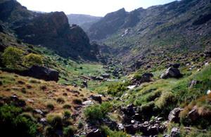 Biotope, Djebel Oukaïmeden, Haut Atlas central