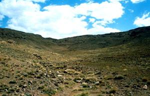 Biotope, Tizi-n-Ounzour, Anti-Atlas nord-oriental