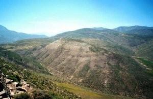 Habitat, Tizi-n-Tamda, Haut Atlas central