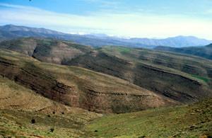 Habitat général, Tizi-n-Tamda, Haut Atlas oriental