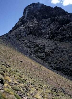 Espace de vol, Djebel Angour, Haut Atlas central
