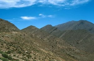 Autre habitat du Haut Atlas, Djebel Azourki (M'Goun)