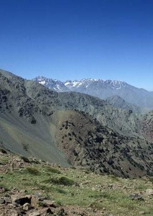 Habitat du Haut Atlas, dans le Massif du Toubkal