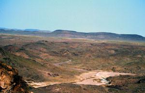 Espace de vol, Tizi-n-Bachkoum, Anti-Atlas nord-oriental