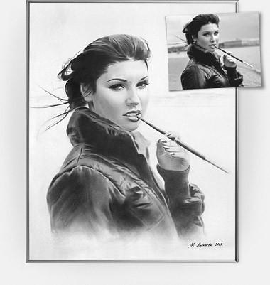 Портреты по фото и на заказ: маслом, сухой кистью, пастелью - художник Санкт-Петербург