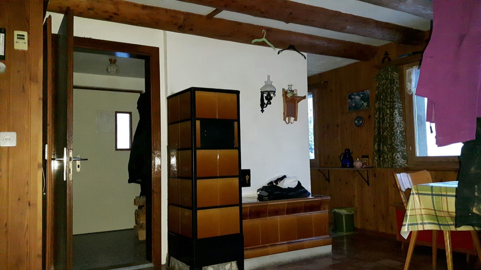Wohn--Esszimmer