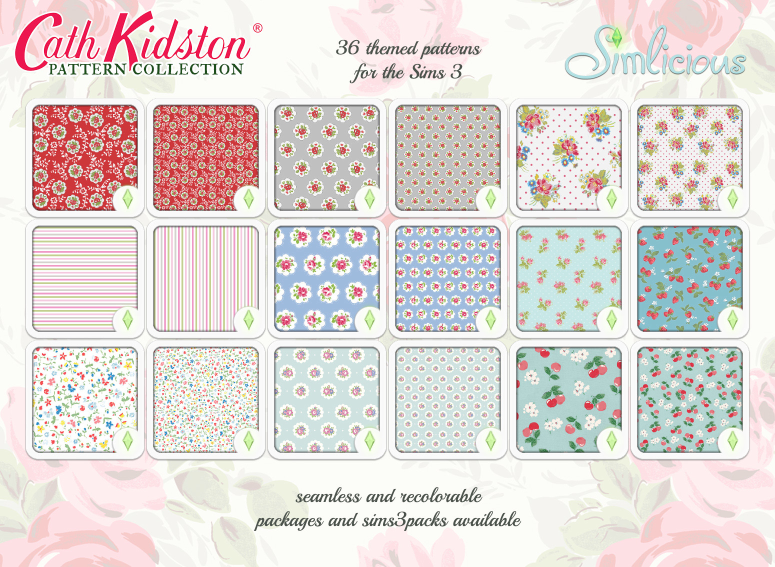 Cath Kidston Pattern Collection Custom Content For The