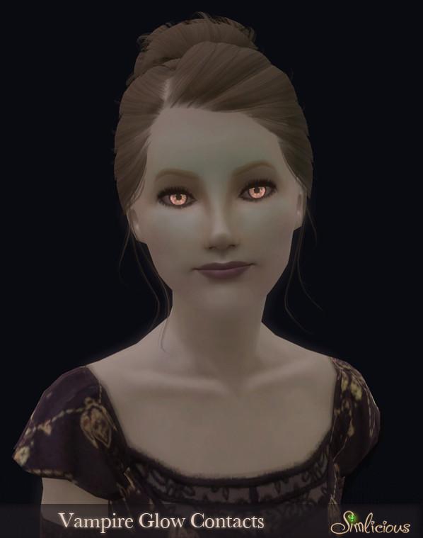 Vampire Glow Contacts