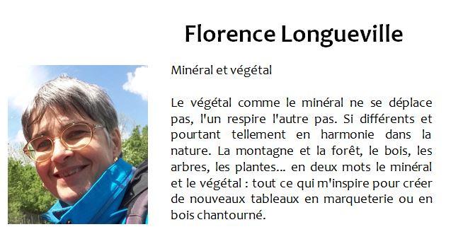 Atelier Eclats de bois - Marqueterie - Florence Longueville - Exposition Biviers 2021 Minéral et Végétal