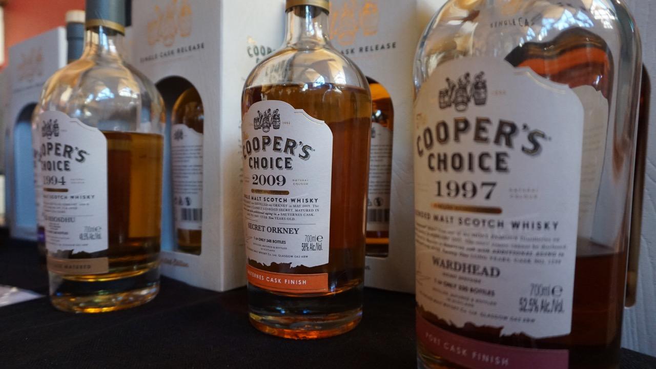 Auch am Stand von Celtic Events warten feine Whiskys auf die Verkostung.