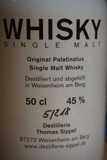 Eine von 218 Flaschen der Limited Edition