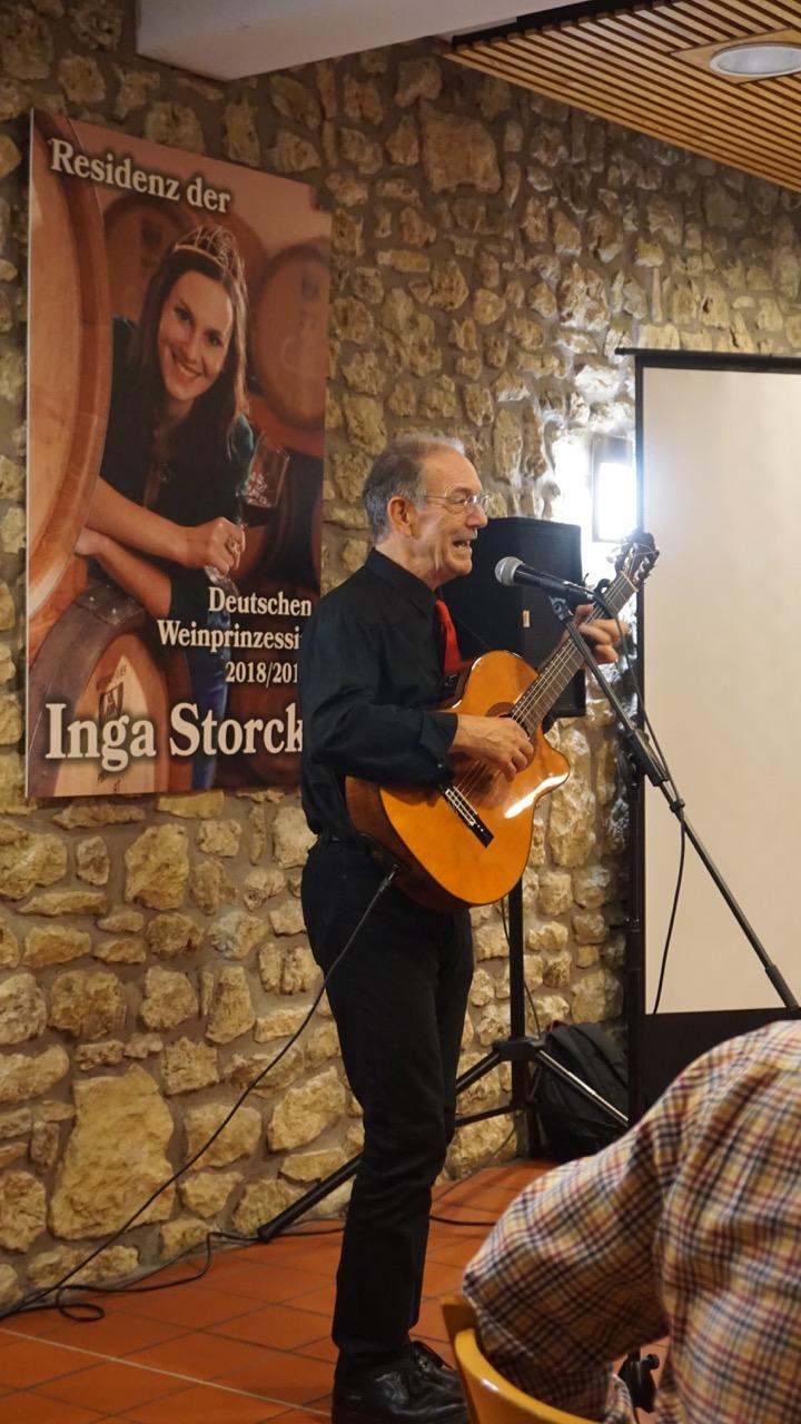 """""""Whisky&Music"""" mit Robin Laing, dem international bekannten schottischen Singer-Songwriter."""
