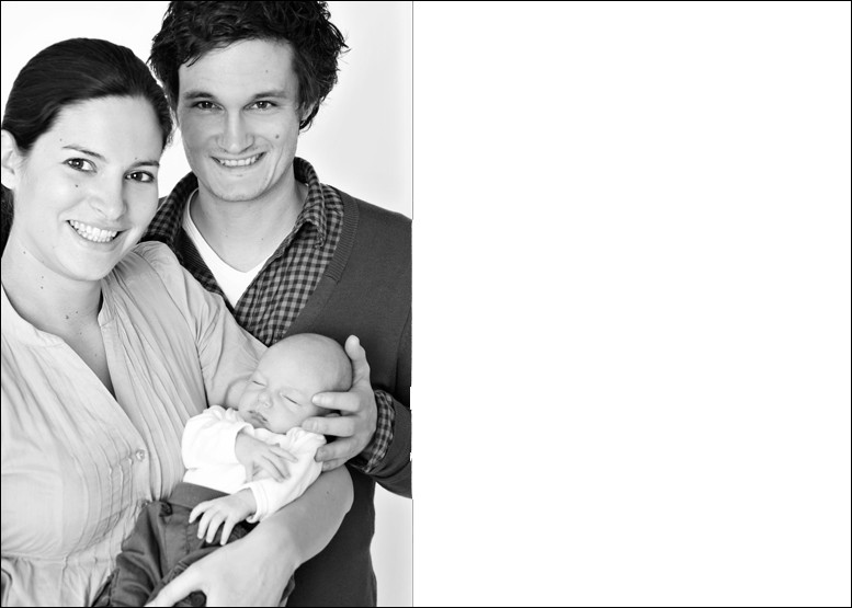 Familienportrait mit Baby