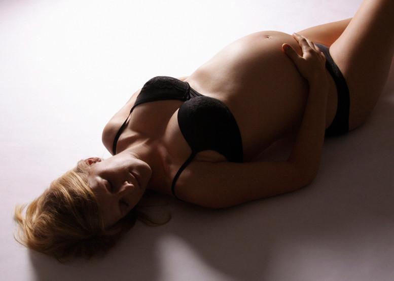 Schwangerschaftsfoto Frau