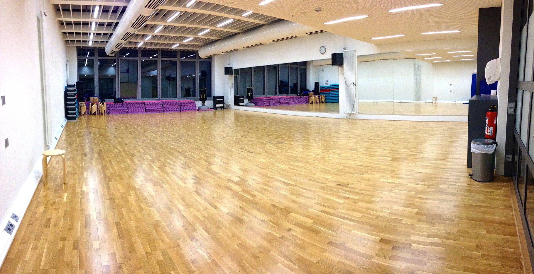 Gymnastikraum an der SAP