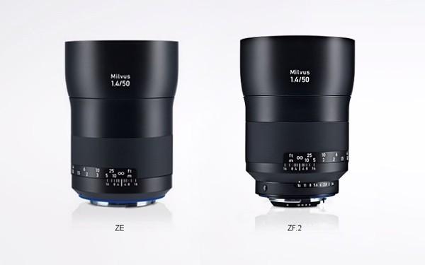Puhlmann Cine - Zeiss Milvus lenses ZE-mount / ZF.2-mount