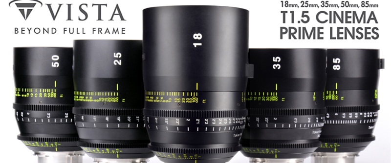 Puhlmann Cine - Tokina T1.5 Cinema Prime Lenses