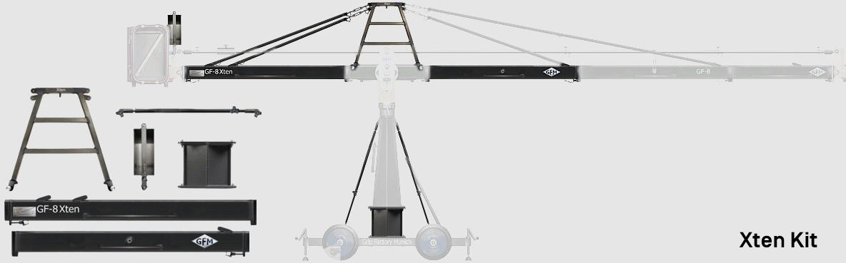 Puhlmann Cine - GF-8 Crane System