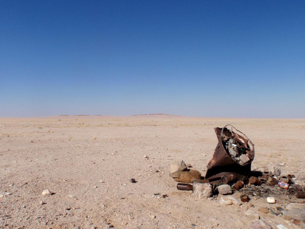 Plein Est, le Désert du Damara Land, Cote des Squelettes, Namibie
